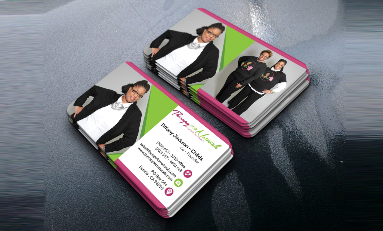 8 Tips to an Effective Business Card - Therapy for Naturals